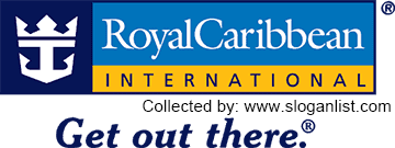Royal Caribbean slogan