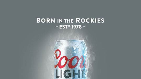 Coors Brewing slogan