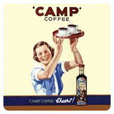 Camp Coffee slogan