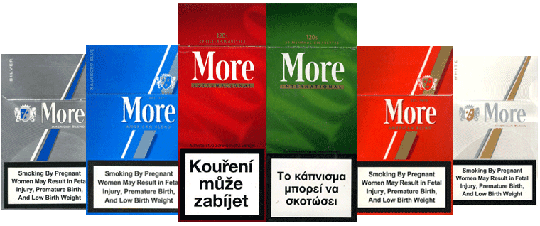 More (Cigarette) Slogan